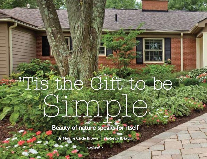 HouseTrends Magazine – 'Tis the Gift to be Simple